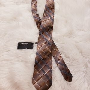 New with tags. Murano blue and brown tie